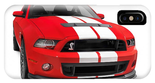 Ford Mustang Shelby Gt500 Sports Car IPhone Case