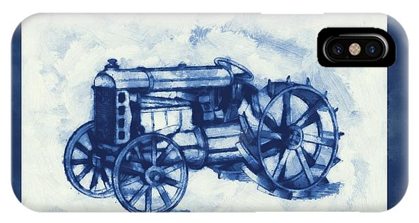 Ford Tractor Patent IPhone Case