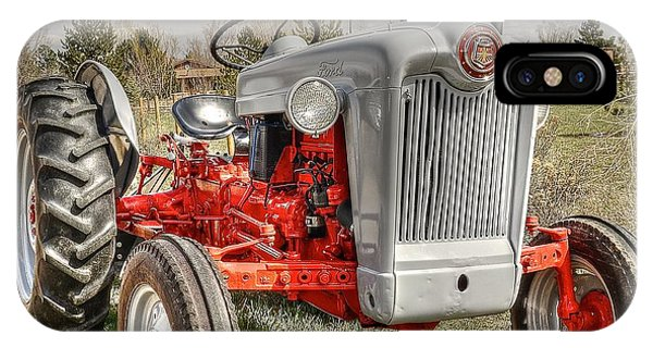 Ford Tractor Phone Case by Peter SPAGNUOLO