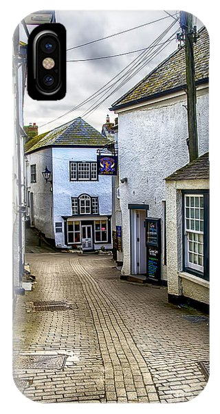 Fore Street Port Isaac IPhone Case