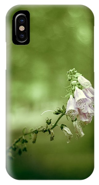 Beautiful Scotland iPhone Case - Forest Flowers by Mr Doomits