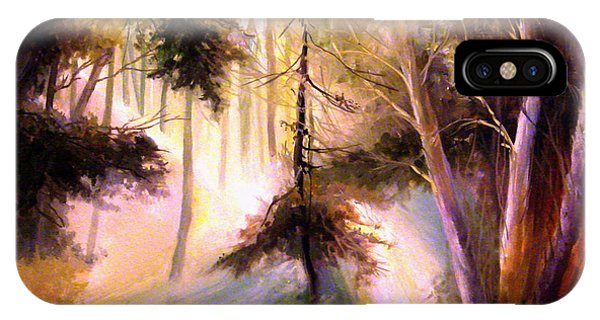 Forest Forest Forest IPhone Case