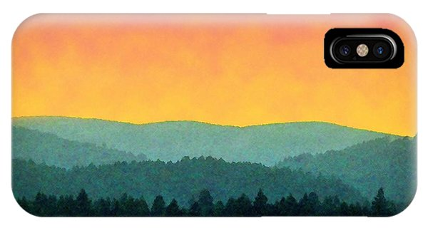 Forest Glow IPhone Case