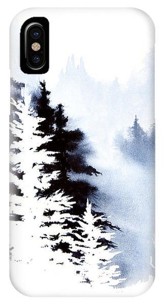 Forest Indigo IPhone Case