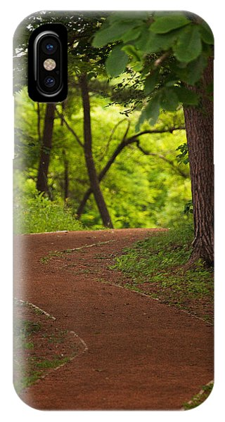 IPhone Case featuring the photograph Forest Path by Brad Brizek