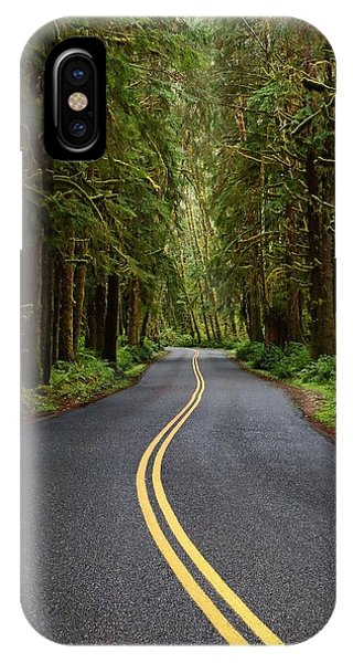 Forest Road IPhone Case