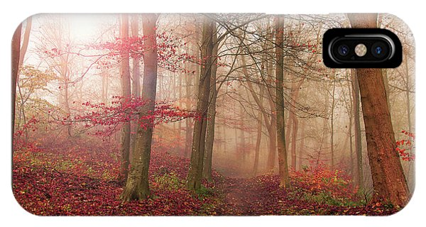 Forest Scene. Phone Case by Leif L??ndal
