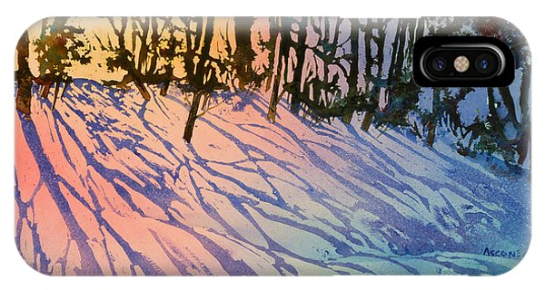 Forest Silhouettes IPhone Case
