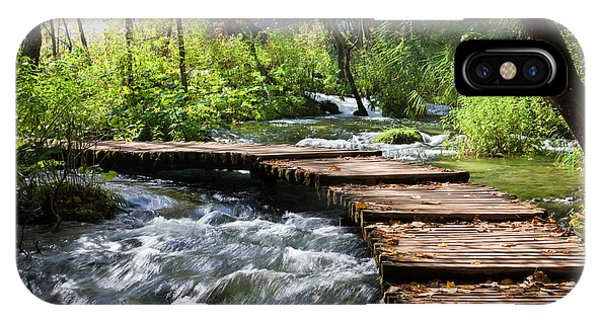 Forest Stream Scenery IPhone Case