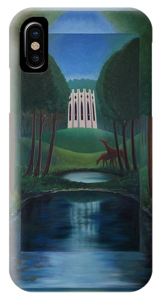 Forest Temple IPhone Case