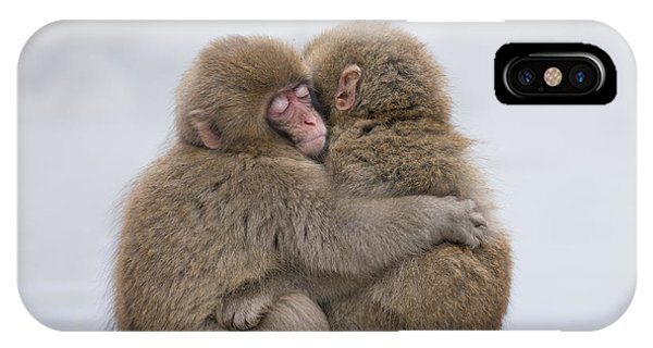 Hug iPhone Case - Forever Friends by Takeshi Marumoto