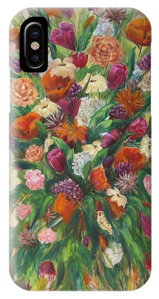 Forever In Bloom IPhone Case