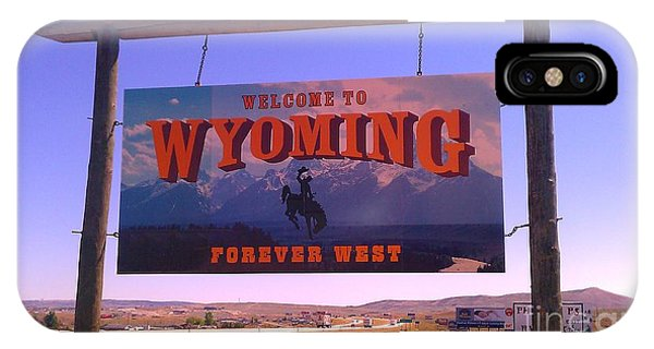 Forever West IPhone Case