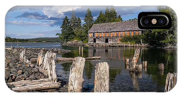 Forgotten Downeast Smokehouse IPhone Case