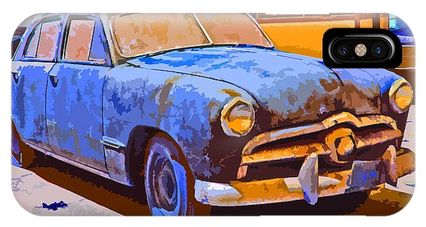 Forlorn 1949 Ford  IPhone Case