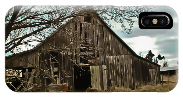 Forlorn Barn IPhone Case
