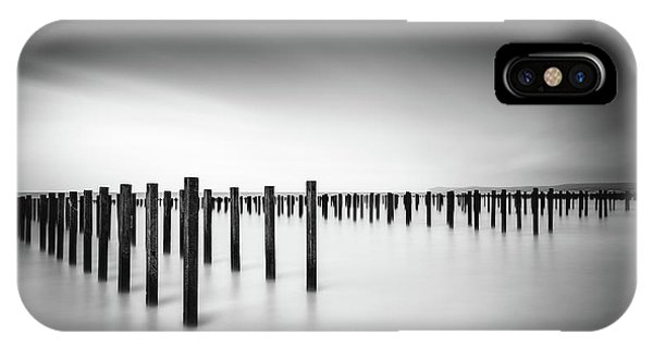 Simple Landscape iPhone Case - Formation  - Study by Christophe Staelens