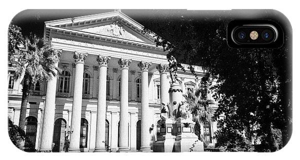 former national congress building Santiago Chile Phone Case by Joe Fox