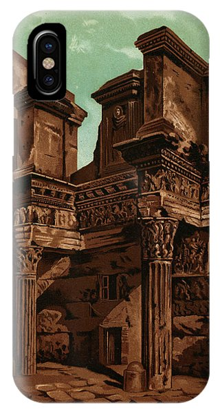 Foro Transitorum     Date 1891 Phone Case by Mary Evans Picture Library