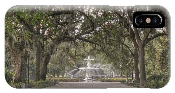 Forsyth Park Promenade IPhone Case