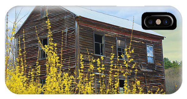 IPhone Case featuring the photograph Forsythia by David Phoenix