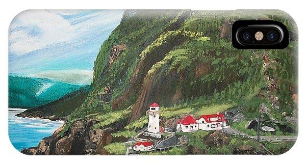 Fort Amherst Newfoundland IPhone Case