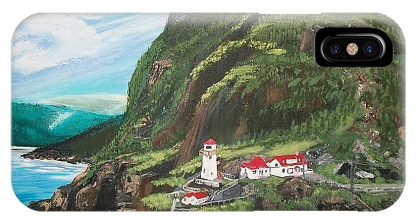 Fort Amherst Newfoundland IPhone Case