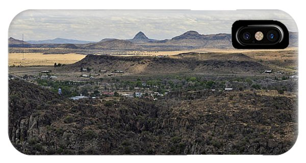 Fort Davis From Davis Mountains State Park IPhone Case