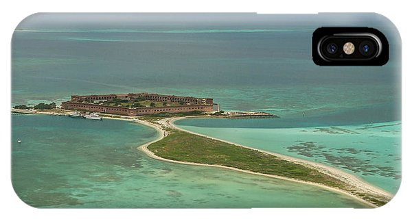 Fort Jefferson - Garden Key IPhone Case