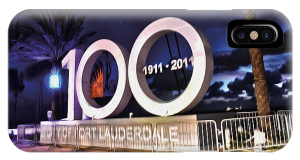 Fort Lauderdale At 100 Years IPhone Case