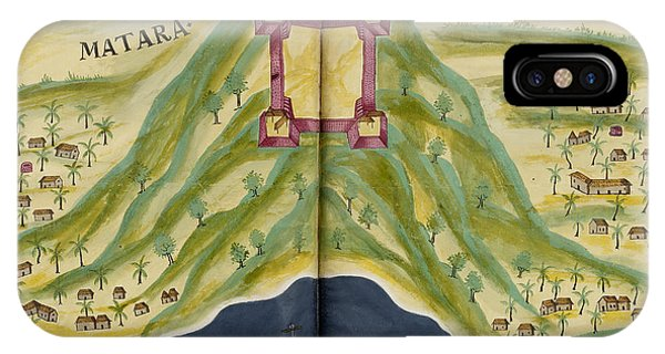 East Africa iPhone Case - Fort Of Matara by British Library