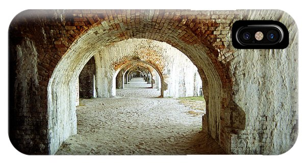 Fort Pickens Arches IPhone Case