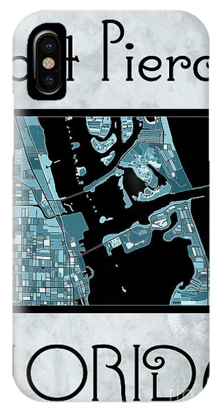 Fort Pierce Map No.4 IPhone Case