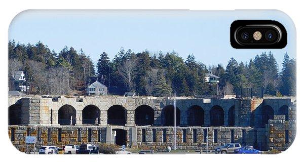 Fort Popham In Maine IPhone Case
