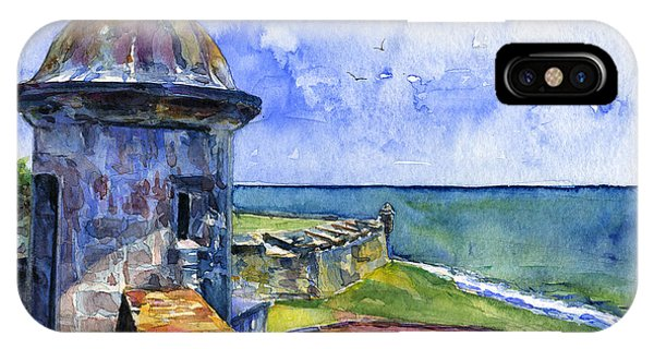Fort San Juan Puerto Rico IPhone Case