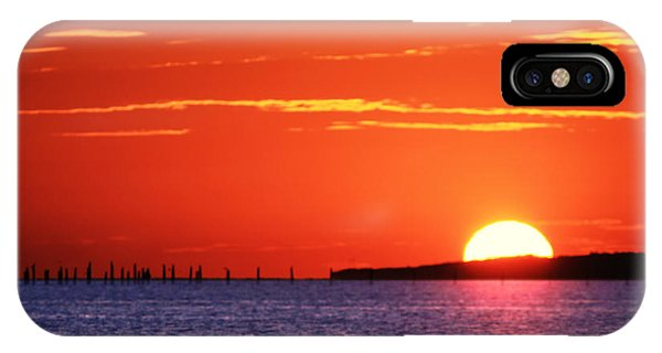 Fort Story Sunrise IPhone Case
