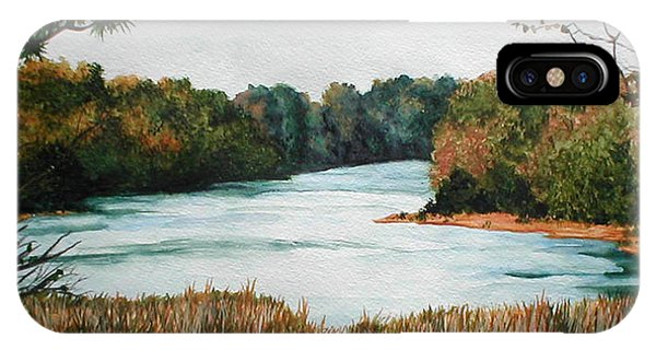 Fort Toulouse Coosa Tallapoosa River Phone Case by Beth Parrish