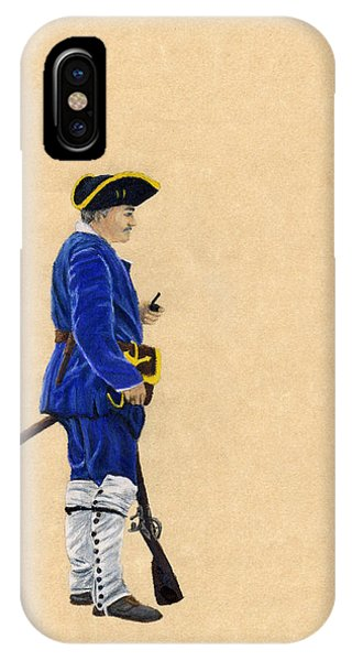 Fort Toulouse Soldier At Ease Phone Case by Beth Parrish