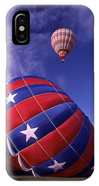 Fort Worth Balloons IPhone Case