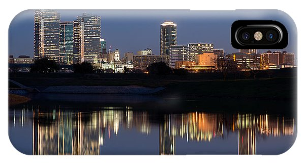 Fort Worth Skyline 020915 IPhone Case