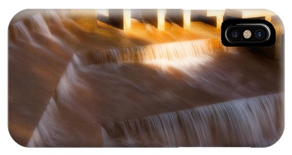 Fort Worth Water Gardens Steps IPhone Case