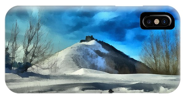 IPhone Case featuring the photograph Forte Diamante Innevato 4198 - By Enrico Pelos by Enrico Pelos