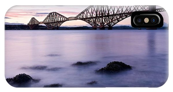 Forth Bridge At Sundown IPhone Case