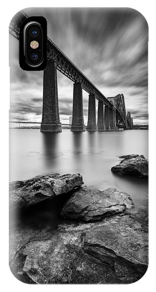 Mono iPhone Case - Forth Bridge by Dave Bowman