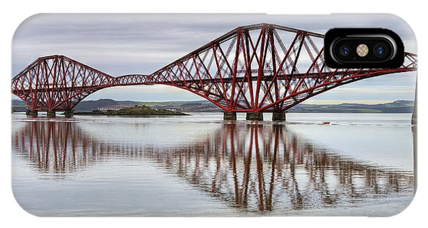 Forth Bridge Reflections IPhone Case