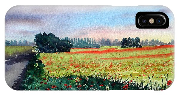 Forty Acre Field Near Easingwold IPhone Case