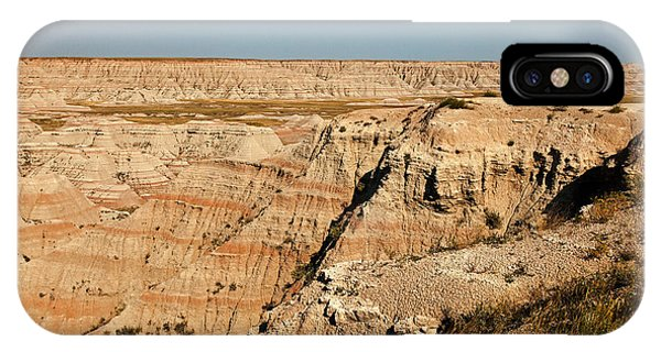 Fossil Exhibit Trail Badlands National Park IPhone Case