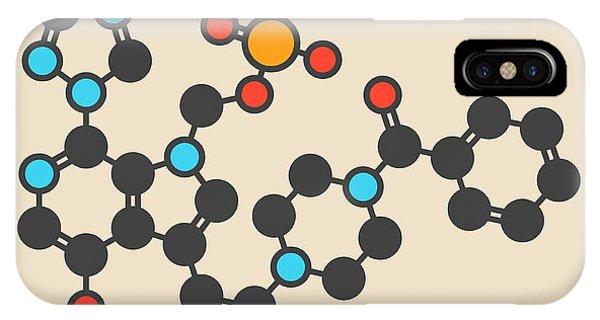 Fostemsavir Hiv Virus Drug Molecule Phone Case by Molekuul