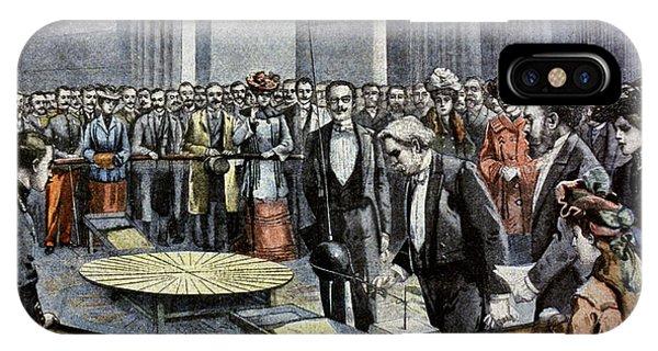 1851 iPhone X Case - Foucault's Pendulum by Cci Archives