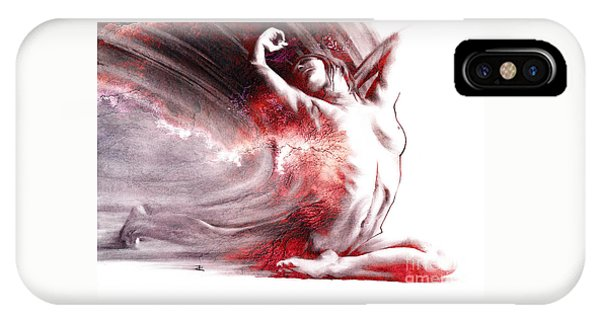Fount Iv Textured IPhone Case
